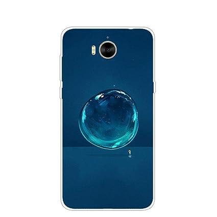 Amazon.com: Carcasa de silicona para Huawei Nova Young MYA ...