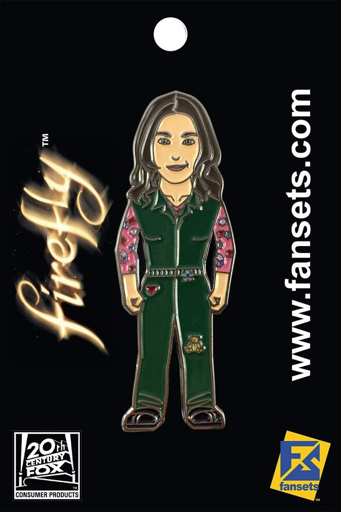Firefly KAYLEE Frye (Jewel Staite) Licensed FanSets Pin FIREFLY Bx4