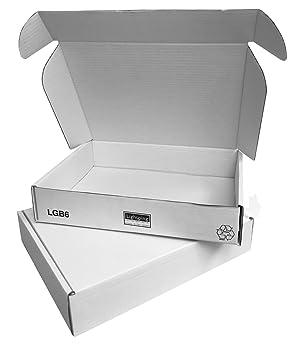 Cajas para envío por correo de color blanco, 360 x 280 x 72 mmPaquete de