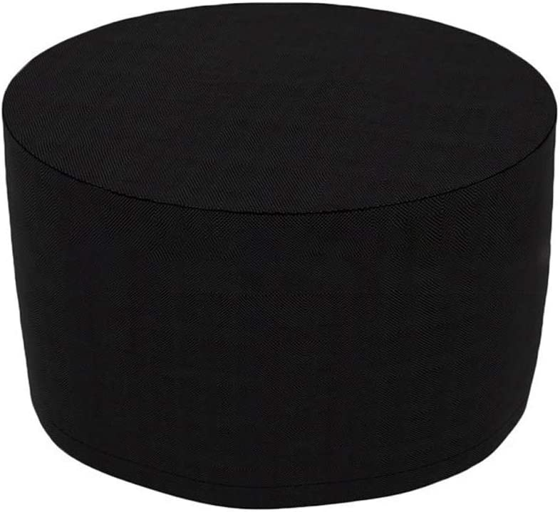 Oxford Cloth Dustproof Waterproof UV Resistant Easy To Clean For Outdoor Patio Furniture Garden Furniture Cover Color : Black, Size : 230x110cm