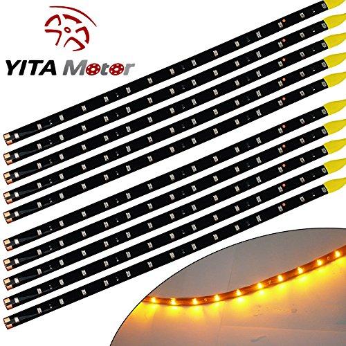 YITAMOTOR Lights Waterproof Flexible Strips