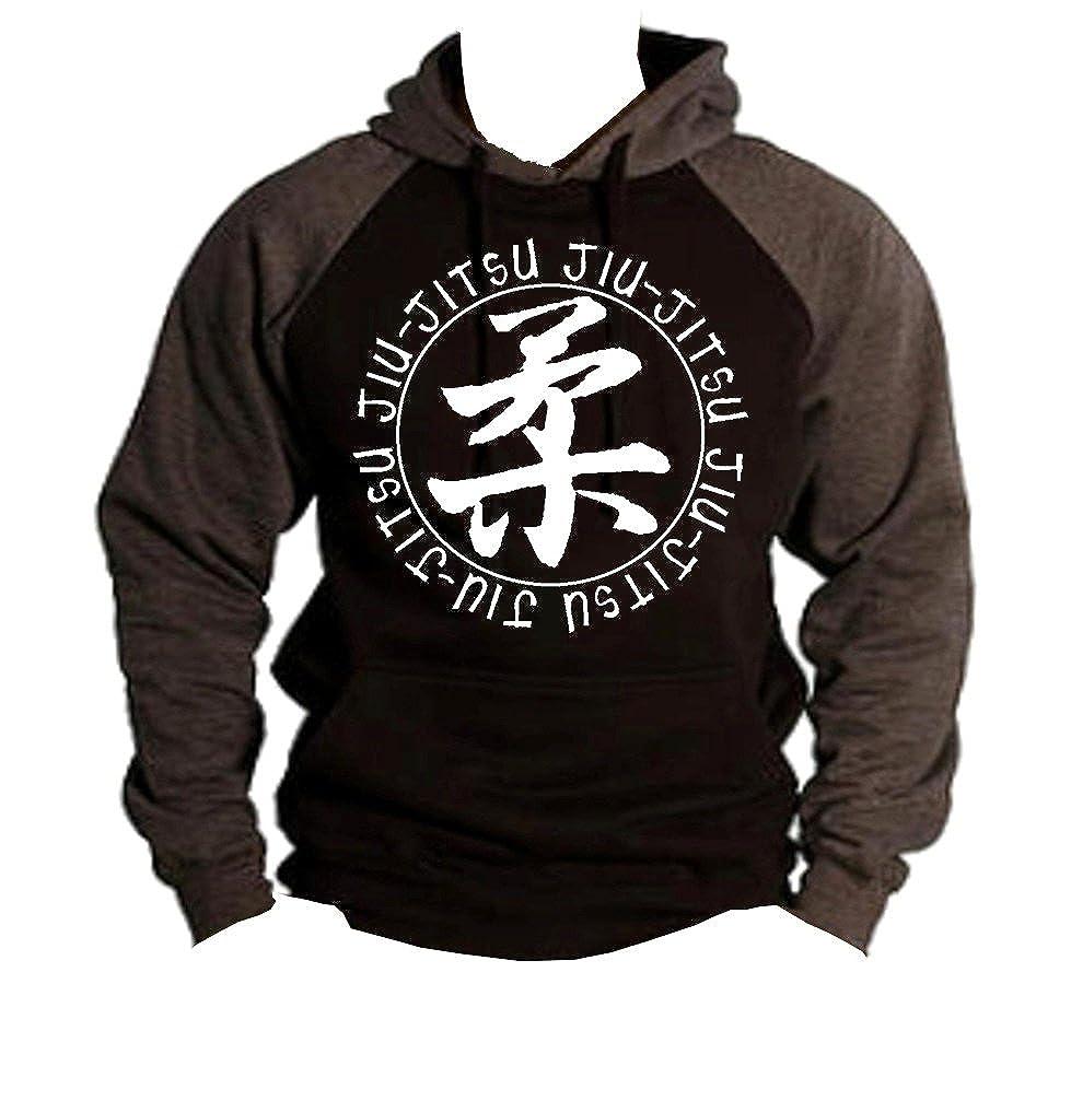038d67b8d5ad9 Interstate Apparel Inc Brazilian Jiu Jitsu MMA/BJJ Men's Two Tone Hoodie  Charcoal/Black