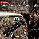 Tactical Flashlights Pocket Knife Set, 5 in 1