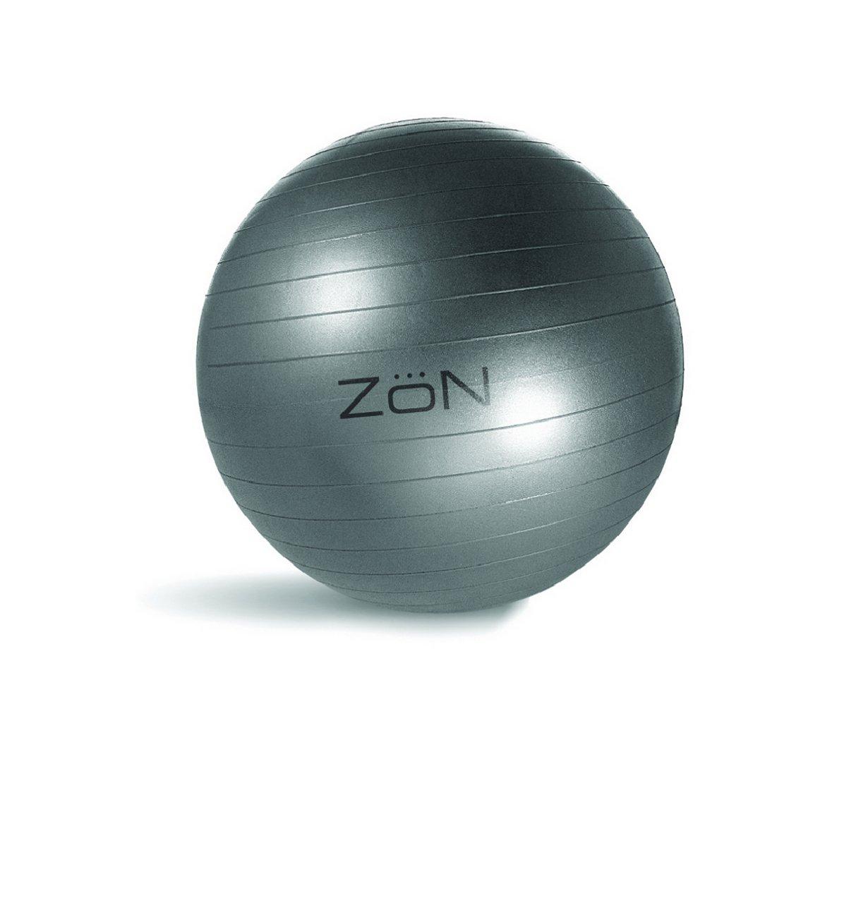 Zon Anti Burst Balance Ball (Silber / Schwarz)