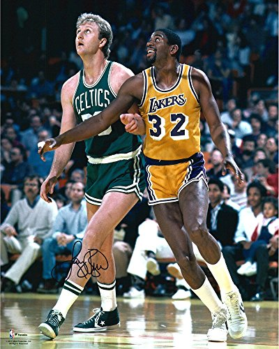 Larry Bird Boston Celtics Autographed 16