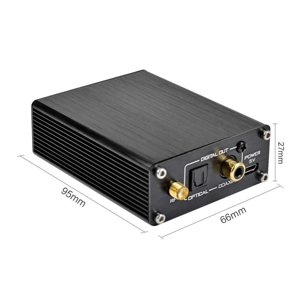 AOSHIKE CSR8670 5.0 Bluetooth Receiver APTX-HD HiFi Wireless Audio Receiver Support Fiber Coaxial Digital Output for AMP DIY