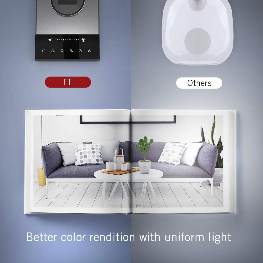 TaoTronics TT-DL16 Stylish Metal LED Desk Lamp, Office 5V/2A USB Port, 5 Color Modes, 6 Brightness Levels, Touch Control, Timer, Night Light, Official Member of Philips Enabled Licensing Program by TaoTronics (Image #2)