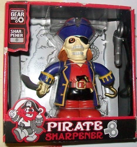 Toysmith Pirate Pencil Sharpener by Nathan's House of Costumes Nathan's House of Costumes