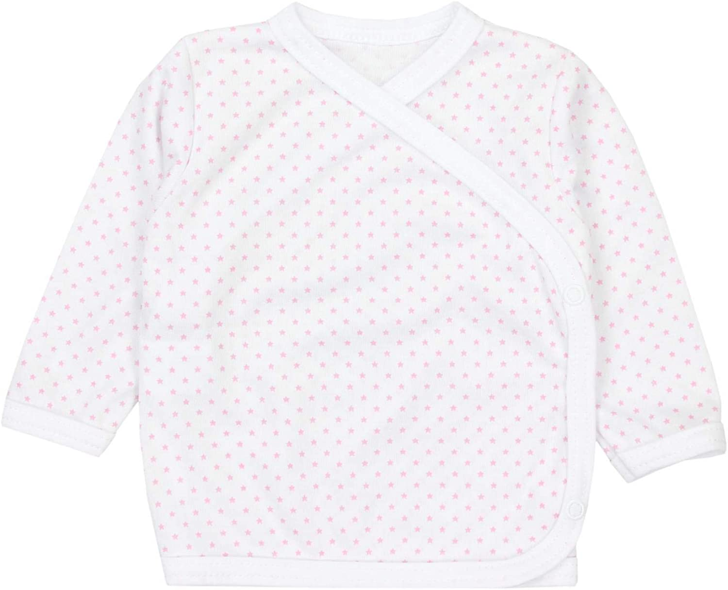 TupTam Baby Unisex Side Snap Shirts Long Sleeve Pack of 5