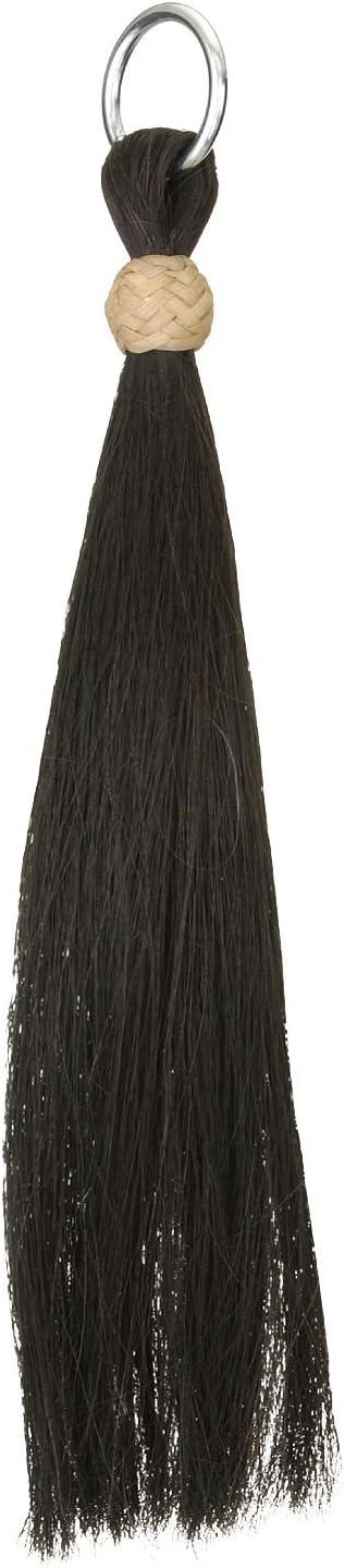 brown//turquoise horse hair tassel X-thick double layer tassel Horsehair tassel