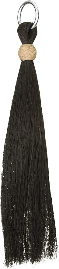 brown//turquoise horse hair tassel Details about  /Horsehair tassel X-thick double layer tassel