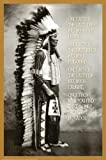 Chief White Cloud (Native American Wisdom) Art Poster Print 24 x 36in