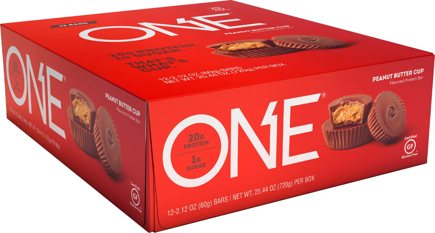 ONE Protein Bar PEANUT BUTTER CUP 2.12 oz. 12 unidades de ...