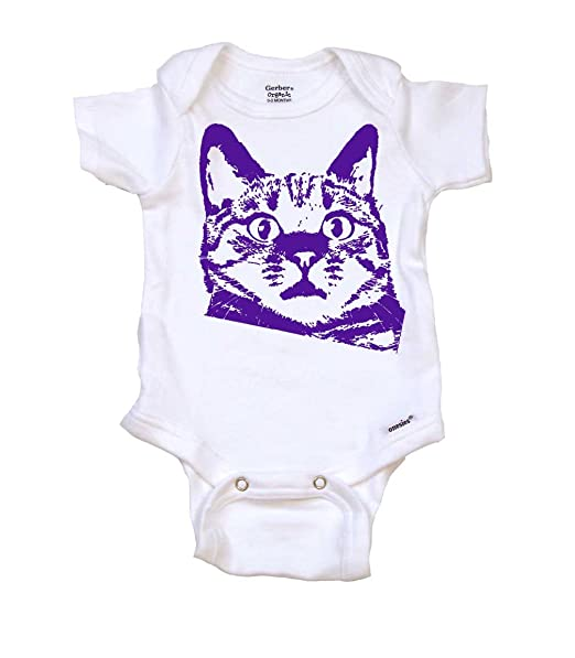 Amazon.com: Gato Gruñón divertido pijama para bebé, body ...