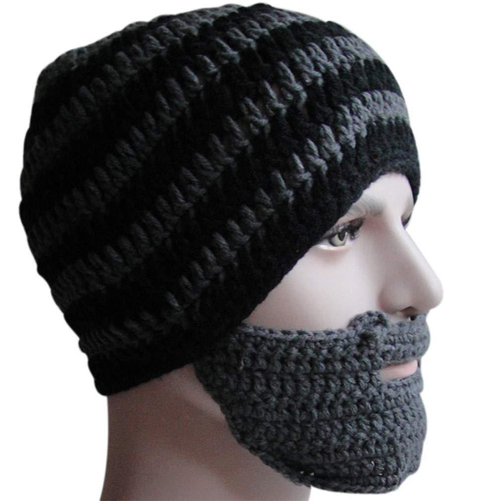 fa12af1555d Warm winter women men fashion knit crochet beard hat beanie mustache jpg  1010x1010 Crochet bearded hat