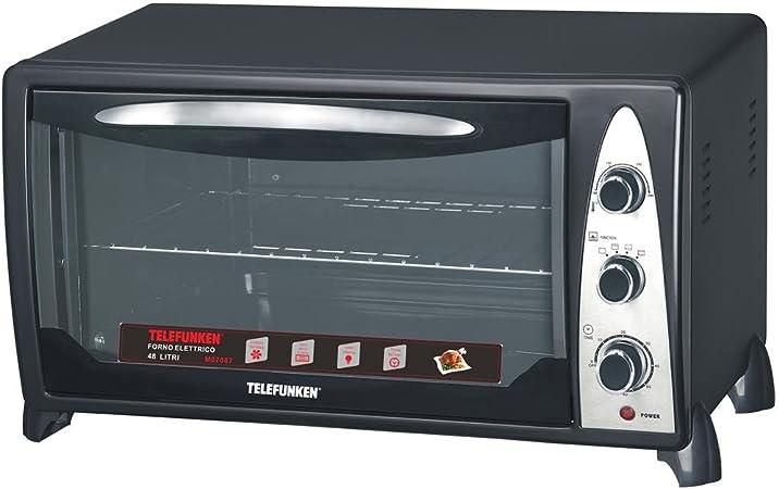 Fornetto Elettrico Ventilato Telefunken Forno Elettrico 48 Litri 2000W M07345