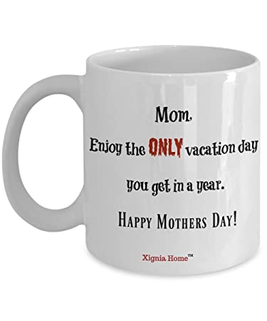Amazoncom Mothers Day Coffee Mug Xignia Home Special Favor Gifts