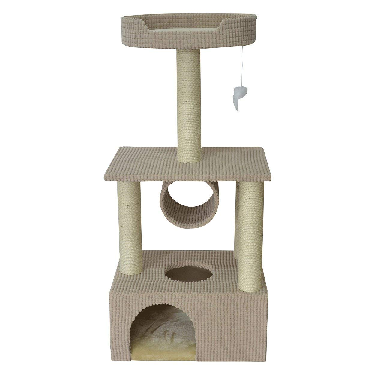 Animal Treasures Cat Tree Scratcher - Condo - 42''