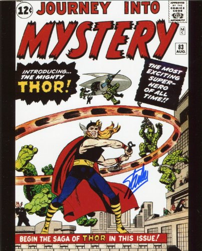 Stan Lee Journey into Mystery 83 Signed / Autographed 8x10 Glossy Photo. Includes Fanexpo Certificate of Authenticity and Proof of signing. Entertainment Autograph Original. Thor