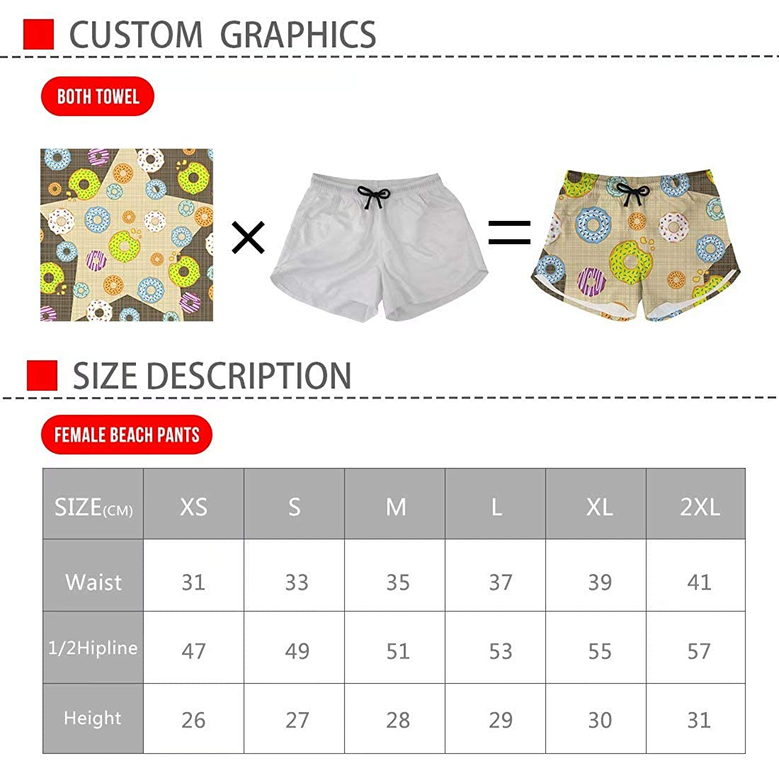 Beauty Collector Womens Zebra Board Shorts Animal Prints Swim Truncks Tie Dye Short Pants