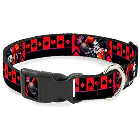 Amazon.com: BUCKLE-DOWN Harley Quinn Bomb poses/trajes negro ...