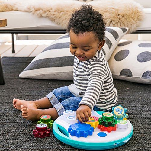 618pwhD24TL - Baby Einstein Symphony Gears Musical Gear Toddler Toy with Lights and Melodies, Ages 12 months and up