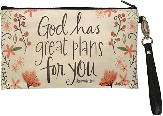 Simple Inspirations Zippered Coin Purse Quote Inspirational Women