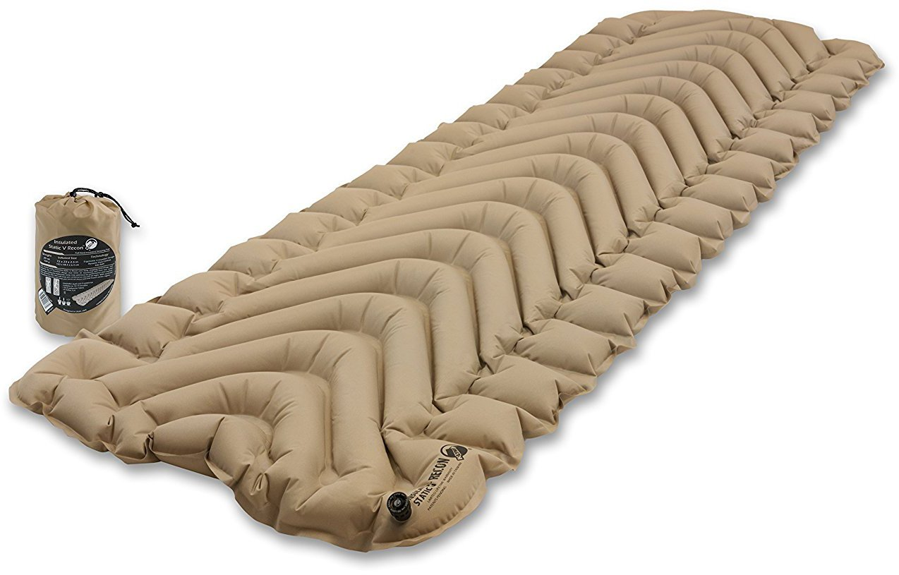 Klymit Insulated Static V Sleeping Pad + electronic mosquito repellant + Bundle by Klymit (Image #2)
