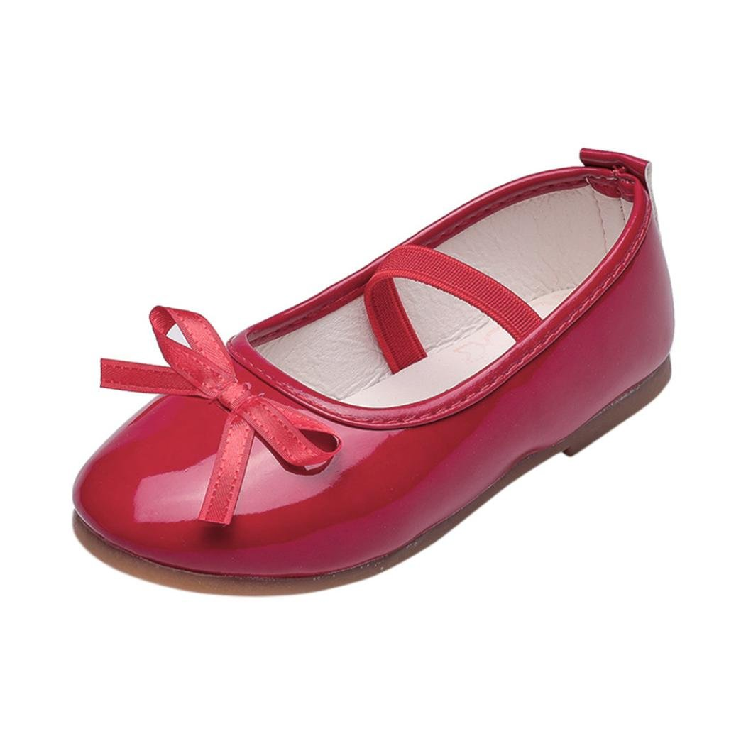 Bebe Fille Princess Chaussures Ballerine Chaussures Noued Mary Jane EU 23-32