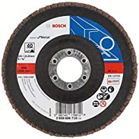 Bosch DIY slijpschijf (voor haakse slijper, verschillende materialen, gewelfde uitvoering, Ø 125 mm) Korrelgrootte 40 d…