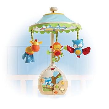 Tiny Love Baby Mobile 3-in-1 Nachtlicht Musikmobile Spieluhr Einschlafhilfe