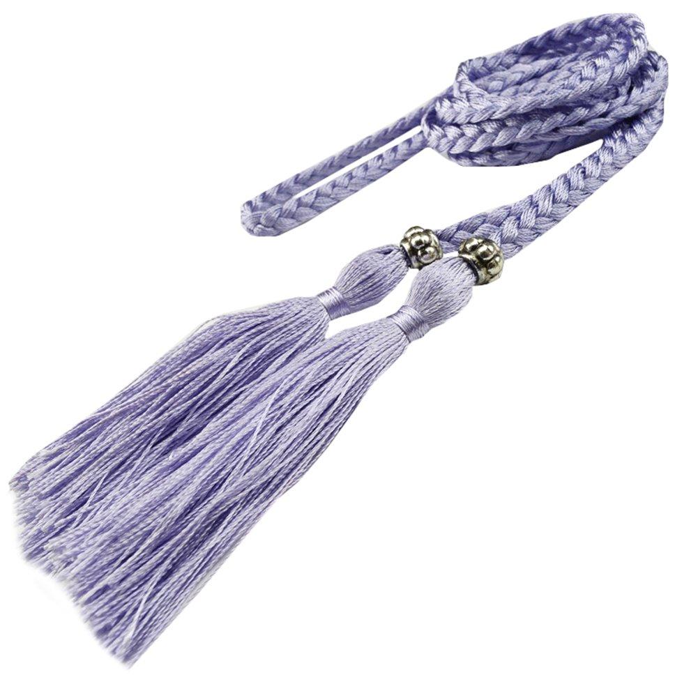 Snone Mesdames Weave Glands Ceinture Ventre Style Coréen de Bow ... 092c02aa284