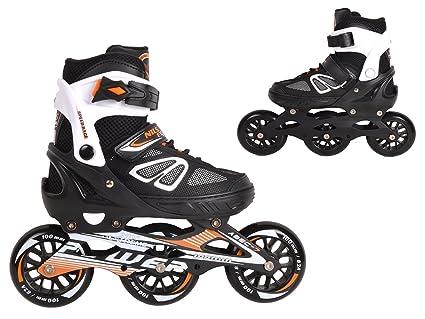 Inlineskates Inline-Skates Inliner Rollschuhe verstellbar Sport S M L NJ1828