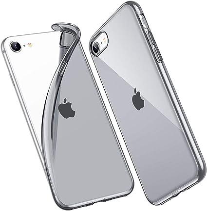ESR Cover per iPhone SE, Poliuretano Resistente all'Ingiallimento [1.1 mm di Spessore] [Angoli Anti Urto] Cover in Silicone Flessibile per iPhone SE ...
