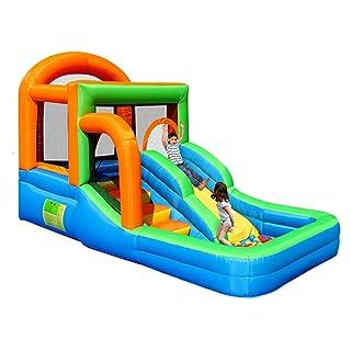 Castelli gonfiabili Piscina Gonfiabile del Giocattolo del Bambino Piccolo Trampolino Dell'interno del Parco di Divertimenti dei Bambini Scivolo Giocattoli Gonfiabili dei Bambini Re