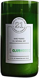 product image for Circle 21 Candles Clubhouse Scented Soy Candle, Green
