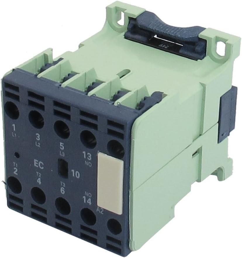 Aexit CJX2-1210E 24 Voltios 12A 50 / 60Hz Bobina Tripolar (model: K9862IXII-9419LP) 1NO AC Contactor
