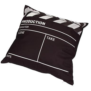 Amazon.com: Funda de almohada, kimloog cine Cinema cuadrado ...