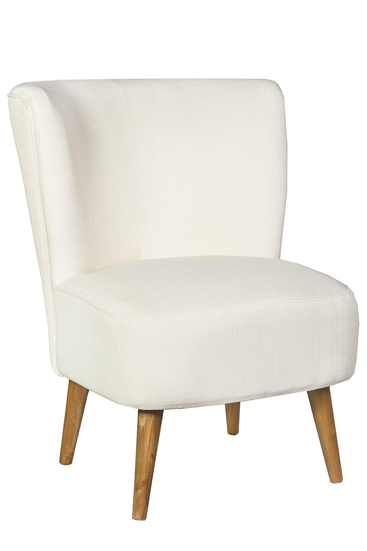 Sessel Stuhl Loungesessel creme weiss *444: Amazon.de: Küche & Haushalt