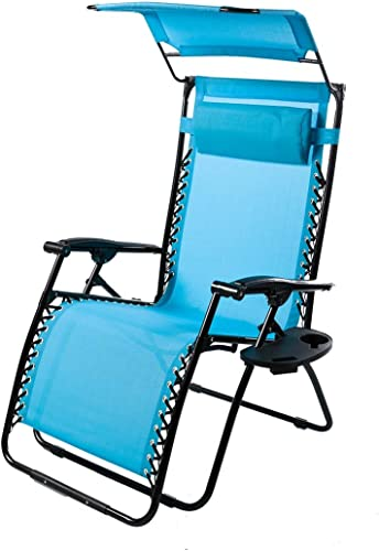 Plow Hearth Outdoor Deluxe Zero Gravity Chair