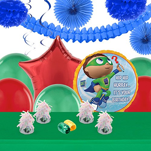 Super Why Pig Costume (Super Why Childrens Birthday Party Supplies - Decoration Pack)
