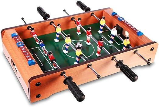Futbolín de madera - 51 cm – Ideal para el cuarto de los niños o la oficina: Amazon.es: Juguetes y juegos