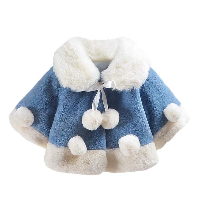 Abrigos Bebé, Dragon868 Ropa de Invierno Capa Gruesa de Terciopelo Abrigo para niñas de bebé: Amazon.es: Ropa y accesorios