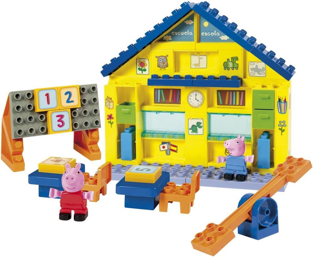 Peppa Pig - Escuela, Juego de construcción (Simba 4344545): Amazon.es: Juguetes y juegos