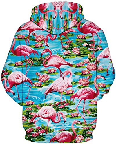 Para Sudadera Amoma Amoma Mujer Sudadera Flamingo qT1cP0yw