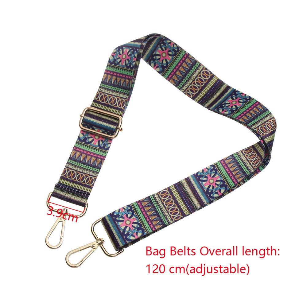 6 Okdeals Bag Strap Replacement Adjustable Handbag Purse Guitar Laptop Strap for Crossbody Bag