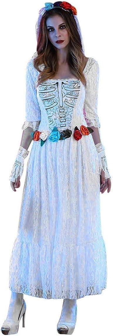 Goosun Disfraces Halloween Mujer Disfraz Novia Cadaver ...