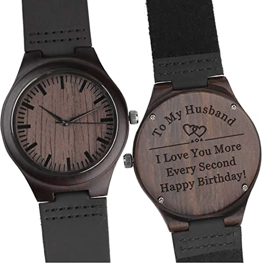 Amazon Com To My Husband I Love You More Every Second Engraved