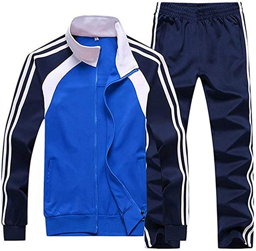 Ultra-Cheap Deals Finally popular brand Hanwe Men's Tracksuit Jogging Suits Running Casual Se Sweatsuits