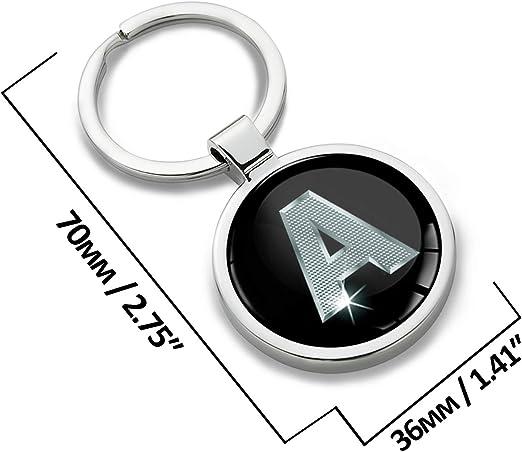 Keychain Alphabet Key Ring Letter R KK 96